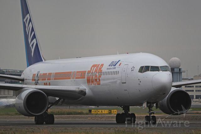BOEING 767-300 (JA604A) - NewSTARWARS ANAJET!!