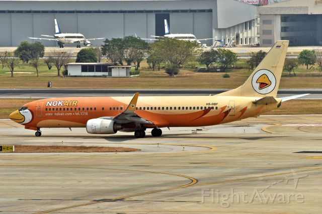 Boeing 737-800 (HS-DBF)