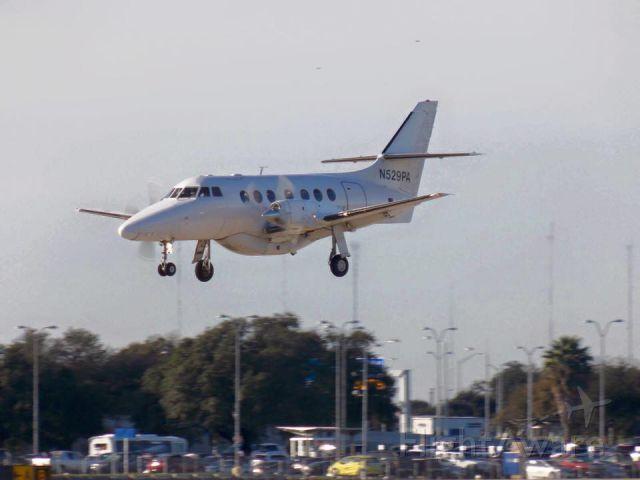 British Aerospace Jetstream Super 31 (N529PA) - BAE Jetstream 3101 Landing 17L KAUS