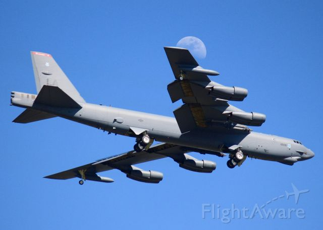 Boeing B-52 Stratofortress (61-0006) - At Barksdale Air Force Base.