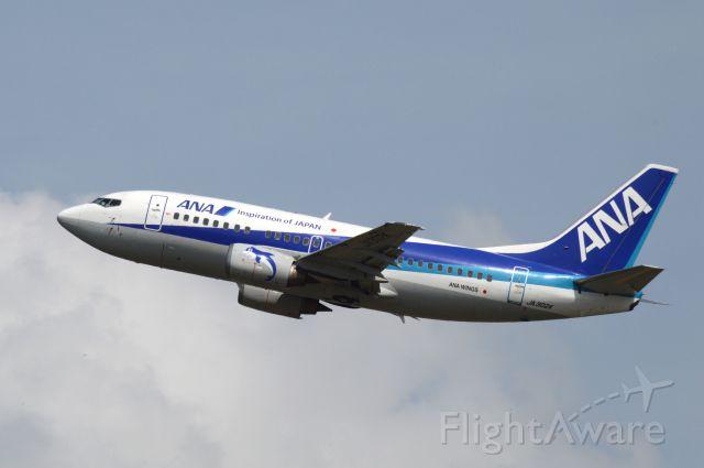 Boeing 737-500 (JA302K) - 2014-08-09