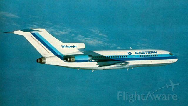 Boeing 727-100 (N5104N) - scanned from postcard
