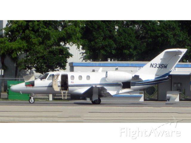 Cessna Citation CJ1 (N33SW) - A CJ1. All doors open.