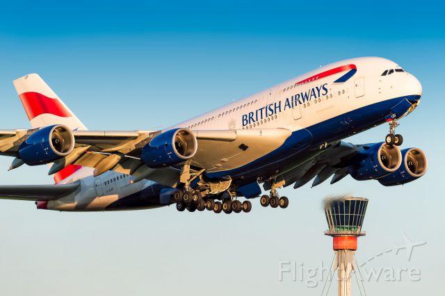 Airbus A380-800 (G-XLEF)
