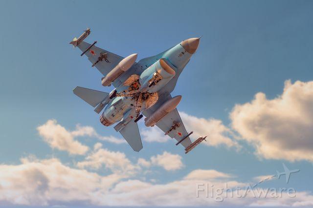 Lockheed F-16 Fighting Falcon — - The 'Aggressor' Returns. USAF 64th Aggressor Squadron, Nellis AFB