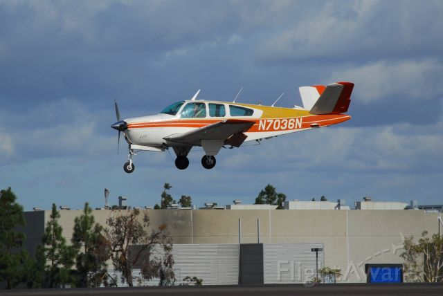 Beechcraft 35 Bonanza (N7036N)