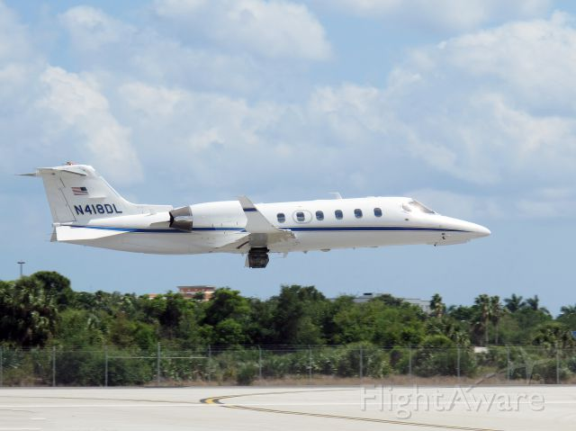 Learjet 31 (N418DL) - A powerful aircraft!