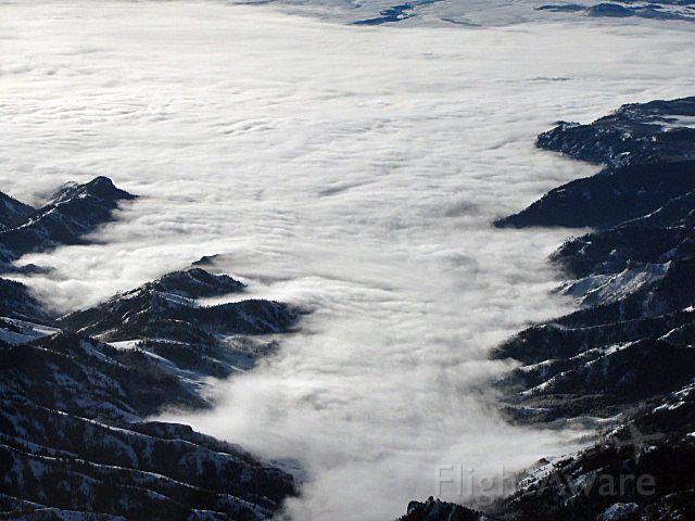 N770CT — - Fog, Gunnison Vally of Colorado