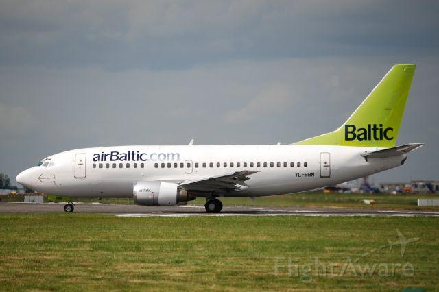 Boeing 737-500 (YL-BBN) - Jun 13, 2008. Originally United Airlines N944UA, now with Klasjet LY-FLT since 2018