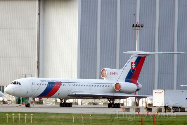 — — - Slovak Government Tu-154 in Vancouver for the 2010 Olympics