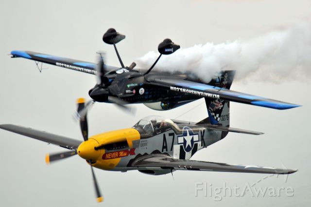 North American P-51 Mustang (N119H) - Rob Holland in his usual attitude