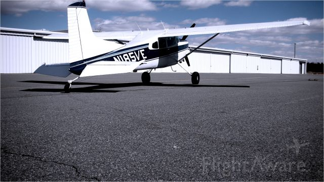 Cessna Skywagon (N185VE) - just pulled out of the hanger