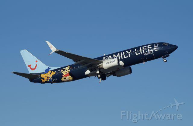 Boeing 737-800 (OO-JAF)