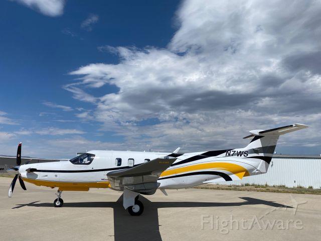 Pilatus PC-12 (N7WS)