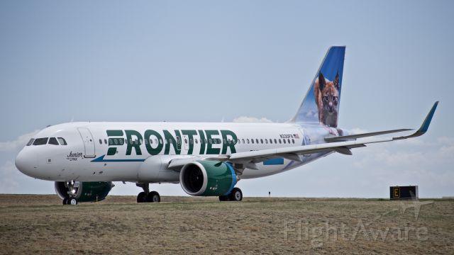"""Airbus A320 (N330FR) - """"Junior"""""""