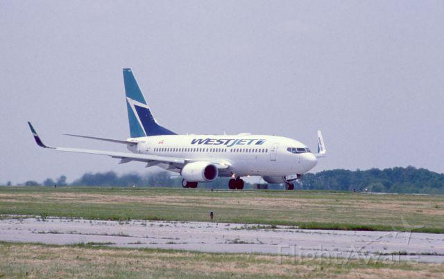 Boeing 737-700 — - Hamilton, Ontario; 2014