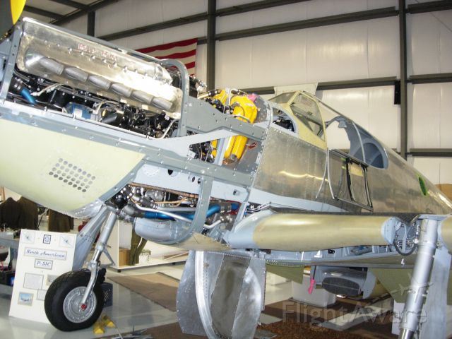 North American P-51 Mustang (NX4651C) - The Boise Bee under restoration back in 2007.