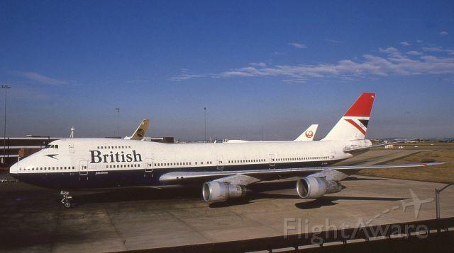 BOEING 747-100 (G-AWNJ) - Boeing 747-136 G-AWNJ at Sydney Airport