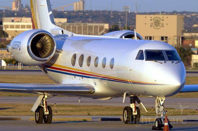 Gulfstream Aerospace Gulfstream IV (N385PD) - Just before sunset.