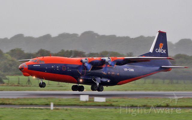 Antonov An-12 (UR-CNN) - cavok air an-12b ur-cnn dep shannon 31/8/18.