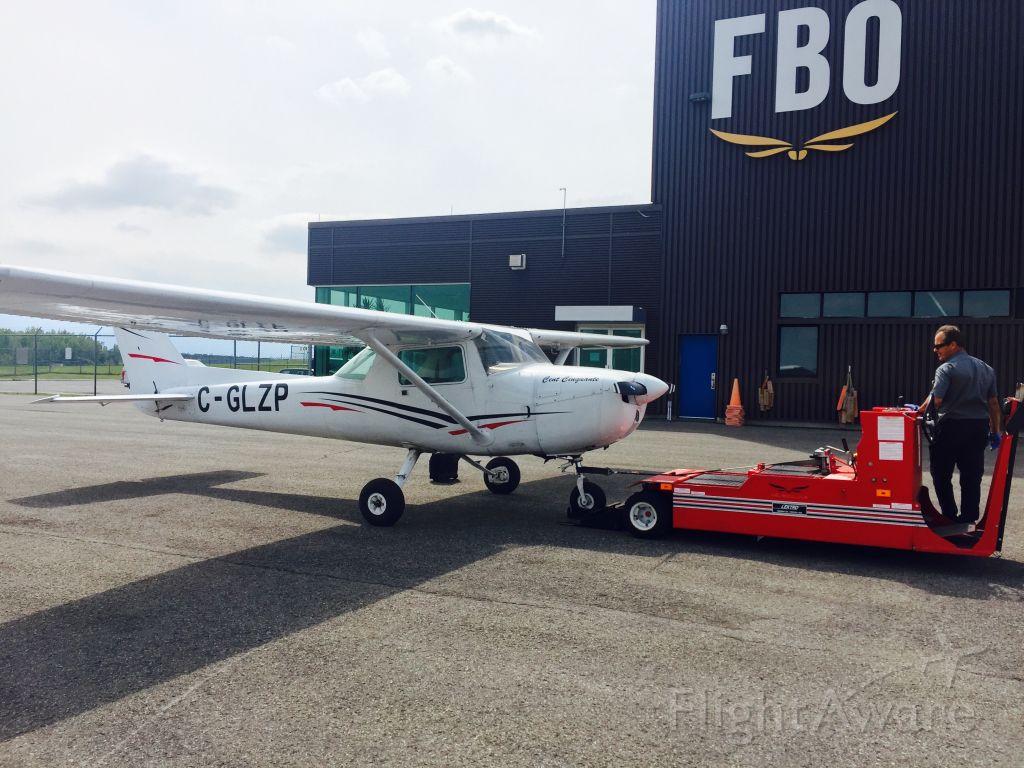 Cessna Commuter (C-GLZP) - Post-Flight @ Hélibellule YMX 15/07/2018