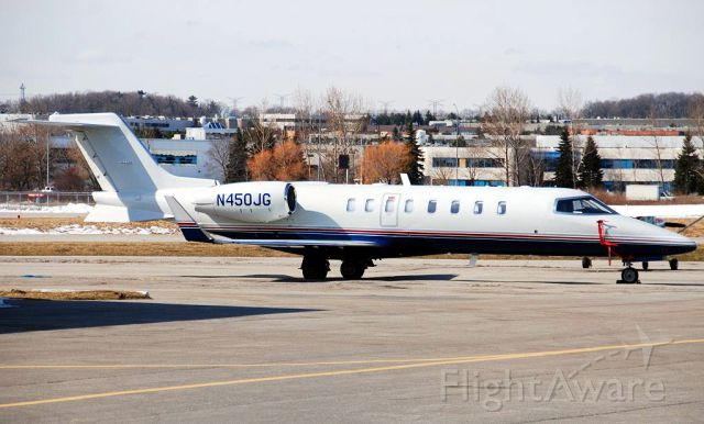 Learjet 45 (OHC450) - AirBoss USA based Buttonville Airport (Canada) CYKZ Toronto area.<br />Operates as OHC450.