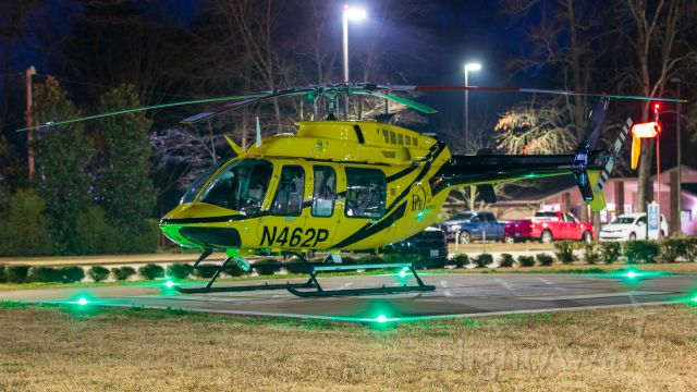 Bell 407 (N462P) - On the ground at Nacogdoches Memorial Hospital.