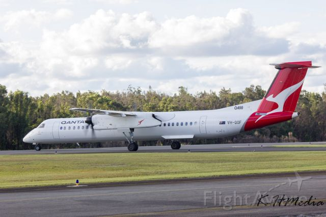 VH-QOF — - Capturing the aircraft taxing out to Runway 03