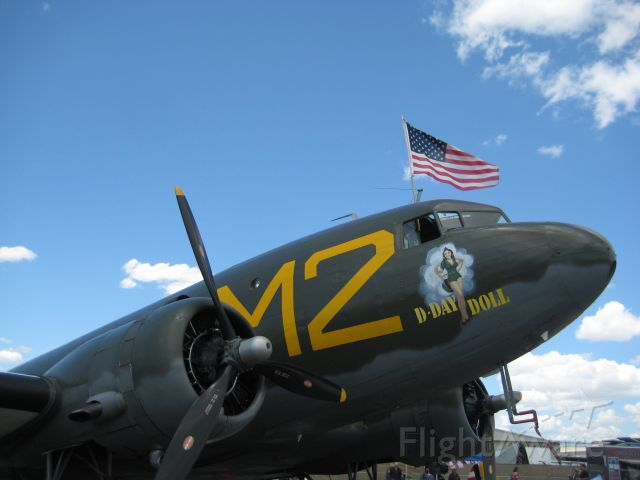 Douglas DC-3 — - Chino Air Show