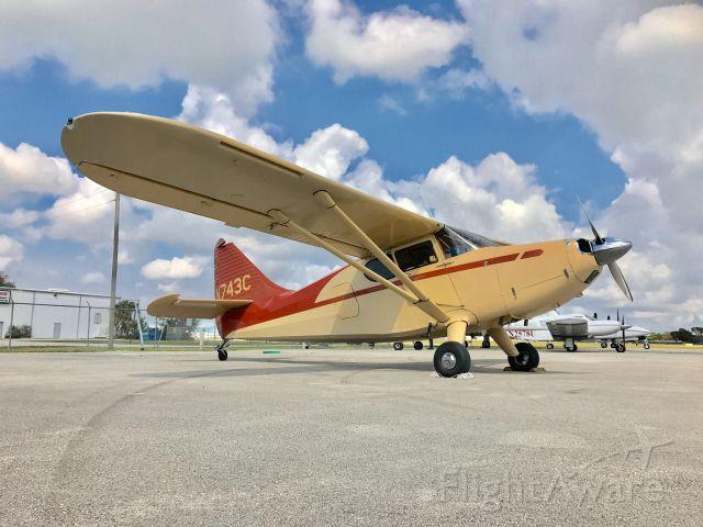 Piper 108 Voyager (N743C) - Stinson 108-3 N743C