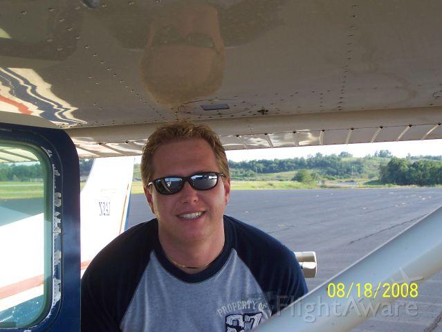 N2AJ — - Gettin ready to go flying...K22 Big Sandy Regional Airport.