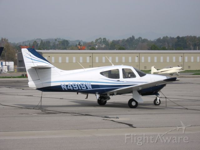 Rockwell Commander 114 (N4919W) - Parked at Fullerton