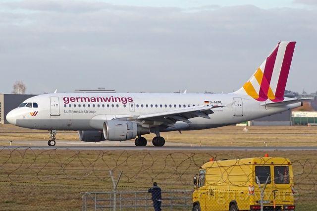 Airbus A319 (D-AKNL)