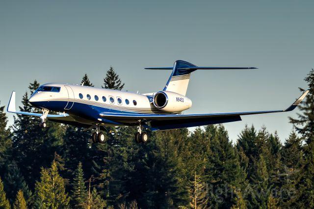 Gulfstream Aerospace Gulfstream G650 (N6453)