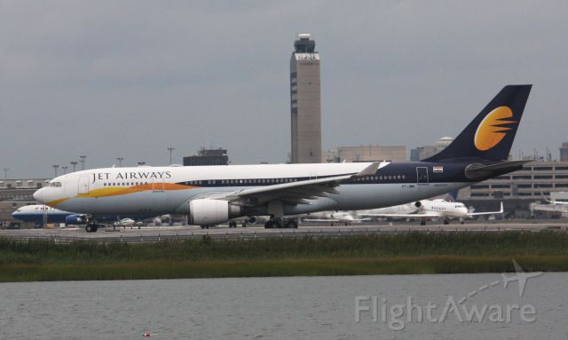 Airbus A330-200 (VT-JWM) - EWR weather diversions
