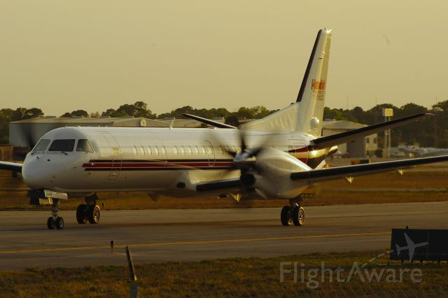 Saab 2000 (N508RH) - Taxiing to 25R for departure to KJQF, after the nationwide series race.