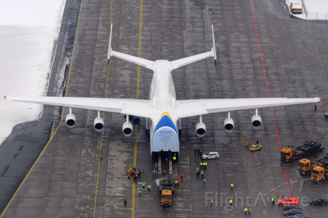 Antonov An-225 Mriya (UR-82060) - January 26th, 2015