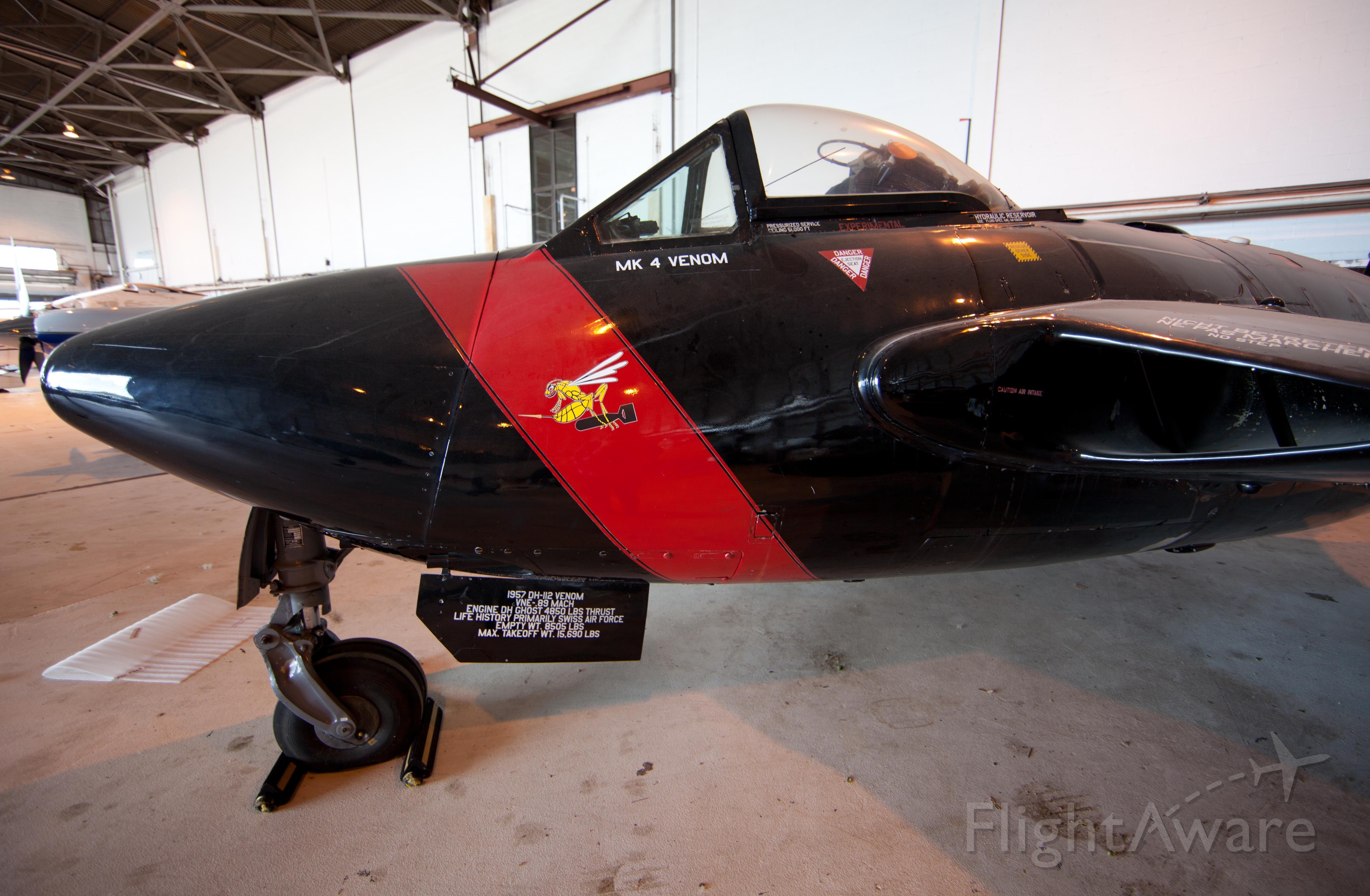 N747J — - The former backbone of the Swiss Air Force.