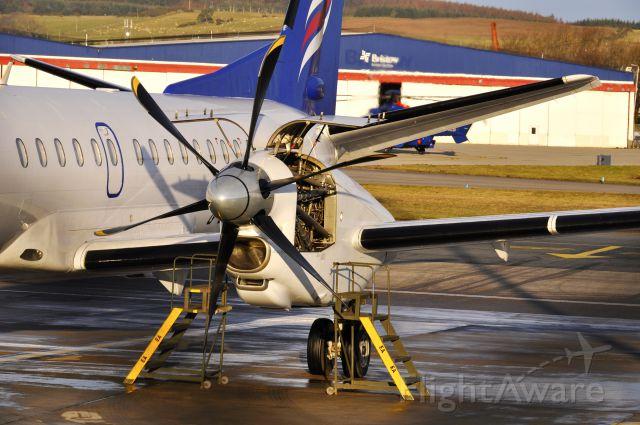 Saab 2000 (G-CERZ) - Eastern Airways Saab 2000 G-CERZ in Aberdeen Dyce Airport