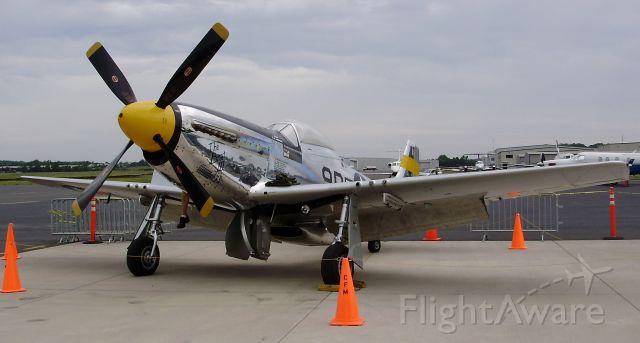 "North American P-51 Mustang (N251JC) - The ""Brat III"" at (HEF) Feb 6, 2013"