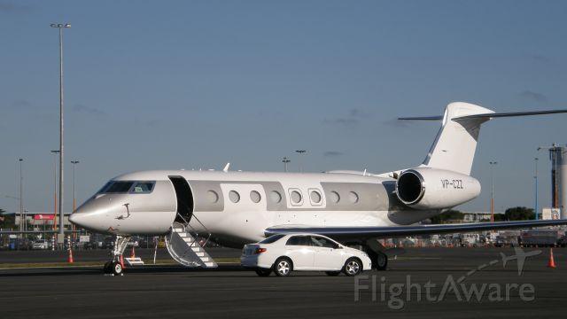 Gulfstream Aerospace Gulfstream G650 (VP-CZZ)