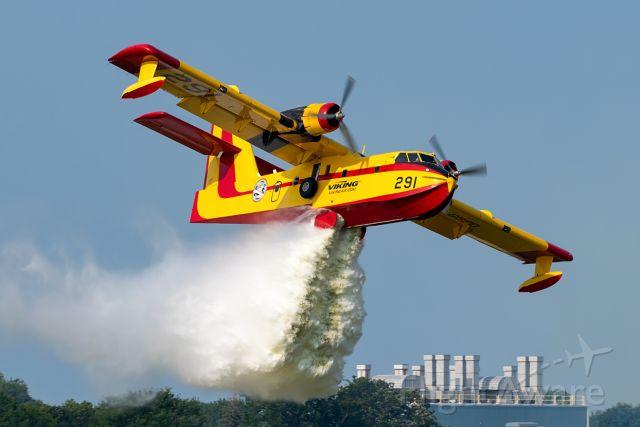 Canadair CL-215 (C-GBPD) - Woosh