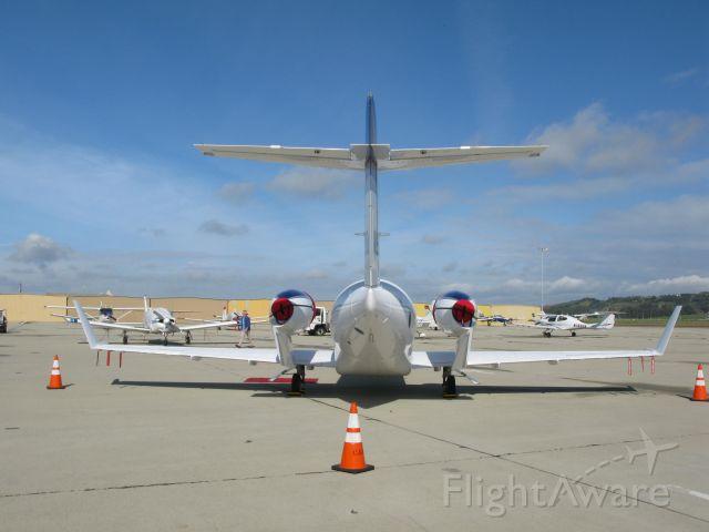 — — - Honda Jet spotted at Camarillo, CA