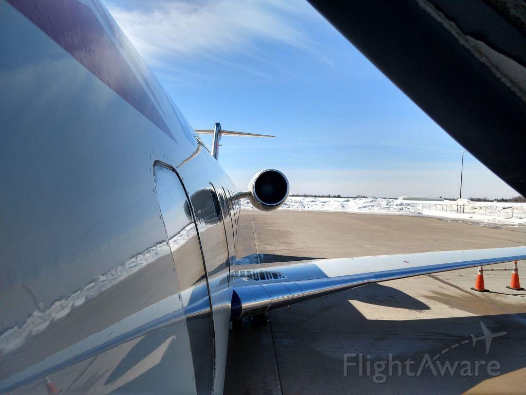 Canadair Regional Jet CRJ-200 (N702BR) - Picture taken March of 2021