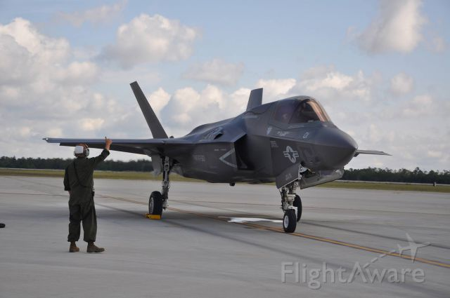 — — - f-35b ready for takeoff