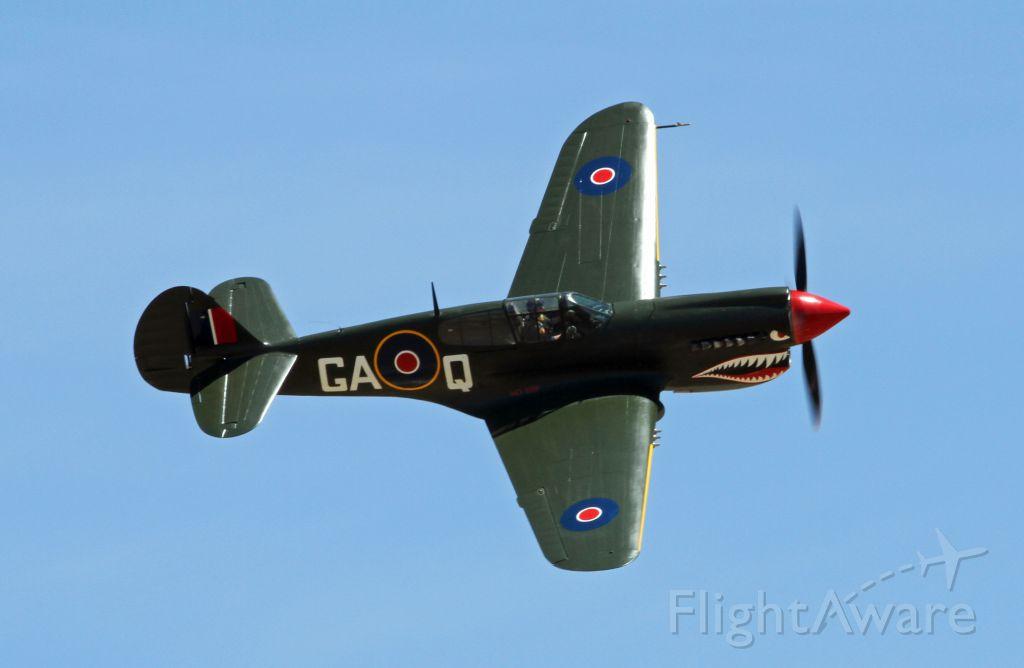 CURTISS Warhawk (GAQ) - Temora Airshow Australia. Please note it is a Curtiss P-40