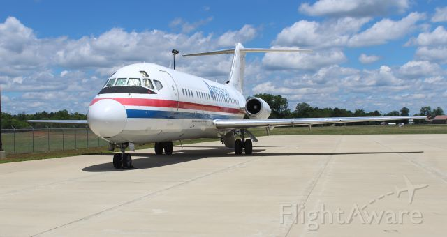 Douglas DC-9-10 (N785TW) - An Ameristar McDonnell Douglas DC-9-15F (AJI9106) on the air cargo ramp at Boswell Field, Talladega Municipal Airport, AL - May 25, 2017. This DC-9 was manufactured in 1967.