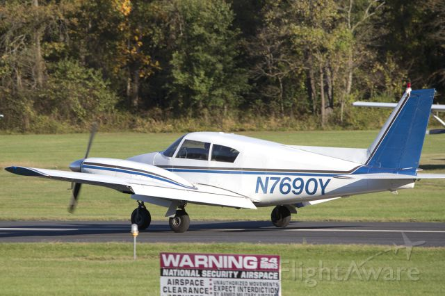 Piper PA-30 Twin Comanche (N7690Y) - Rolling out at its new home.