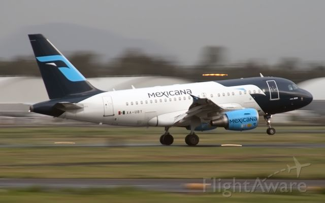 Airbus A318 (XA-UBY) - Remember to Mexicana :(