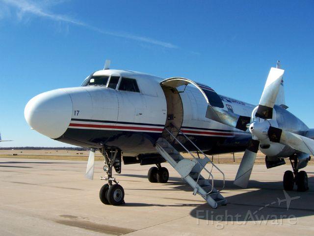 CONVAIR CV-580 (N171FL) - Convair visiting Springfield, MO